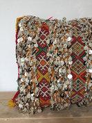 Berber kussen met pailletjes