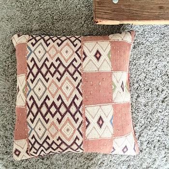 Kelim pillow XL (zalm) 60x60cm