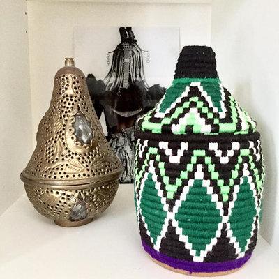 Marokkaans mandje - touw